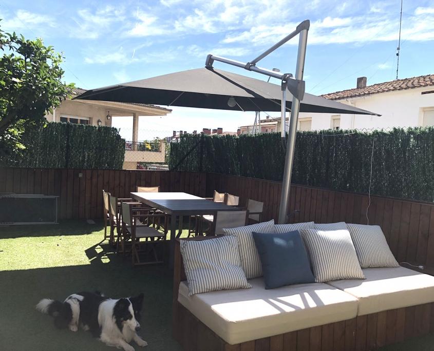 sombrillas para terrazas de alta calidad