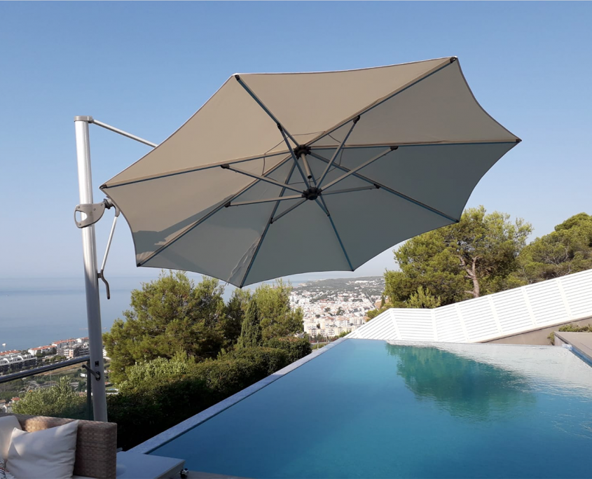 sombrillas para terrazas grandes dimensiones