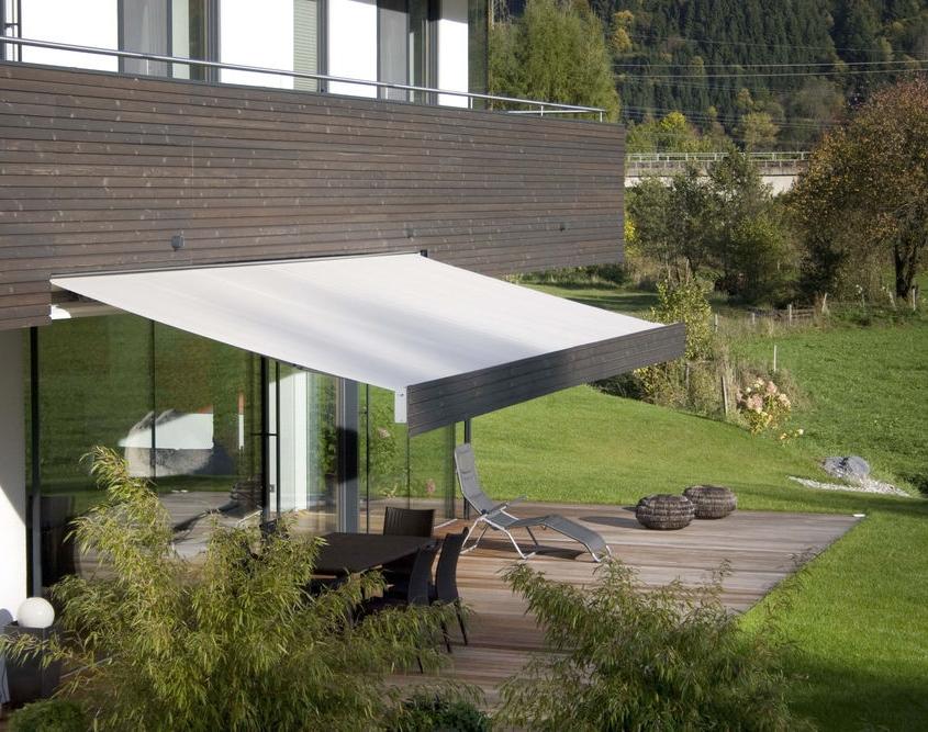toldo markilux 3300 pur plano, liso y minimalista