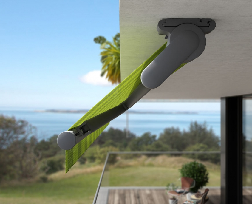 toldo markilux 930 swing con exclusivo mecanismo de giro